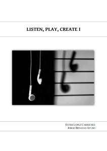 Portada Listen, Play, Create I