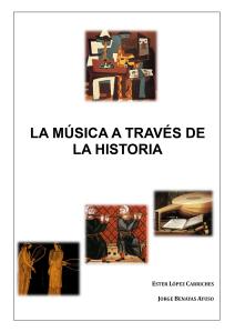 Portada Música a través de la historia