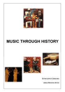 Portada Music through history
